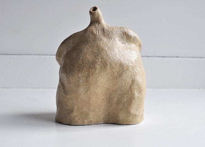 """Handgjord skulptur """"Lennart""""   Egenhändigt   Willekulla Lantlig Inredning   baksida"""