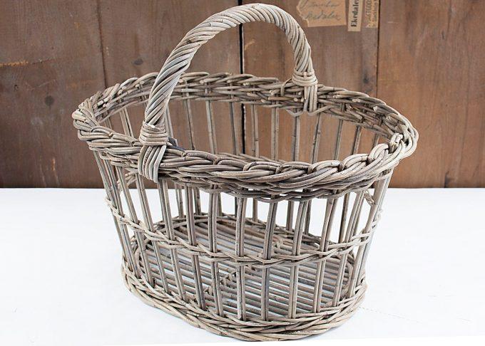 Decorative Storage Basket Rattan Large