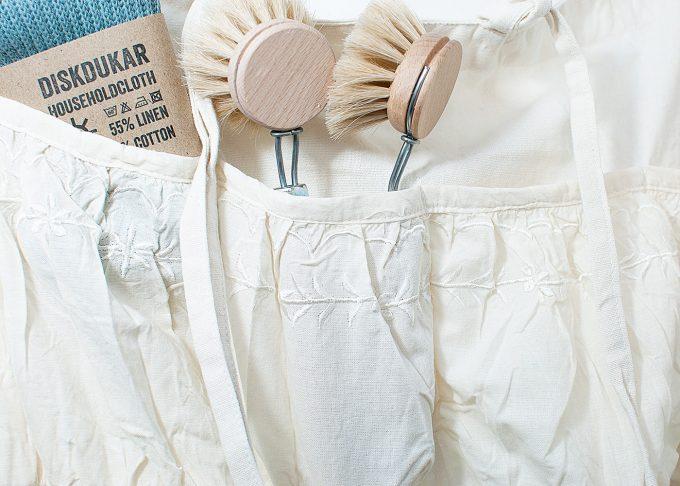 Väggförvaring i tyg med fickor | Jeanne d'Arc Living