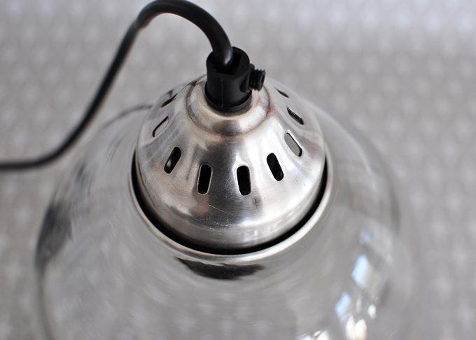 Hängande lampa i vintage stil | Ib Laursen | Willekulla Lantlig Inredning | närbild