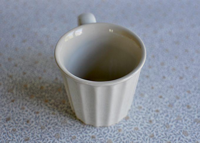 Cremefärgad kaffemugg i porslin   Ib Laursen   Willekulla Lantlig Inredning   sida