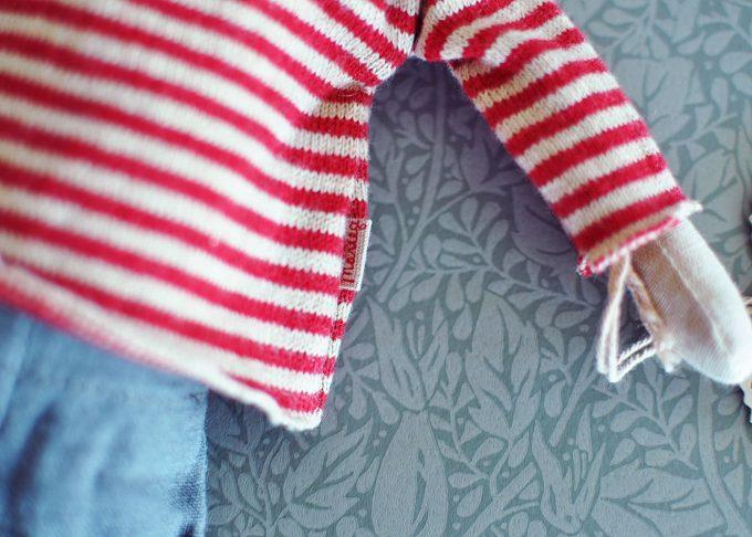 Julmus pojke medium | Maileg | Willekulla Lantlig Inredning | närbild