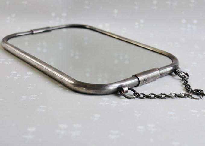 Hängande spegel i vintage stil | Jeanne d'Arc Living | Willekulla Lantlig Inredning | framsida