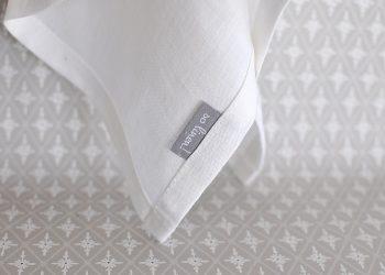 Vit kökshandduk i linne 40×60 cm | So Linen | Willekulla Lantlig Inredning | sida