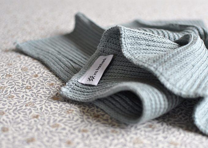 Disktrasa av lin och bomull | Iris Hantverk | Willekulla Lantlig Inredning | närbild