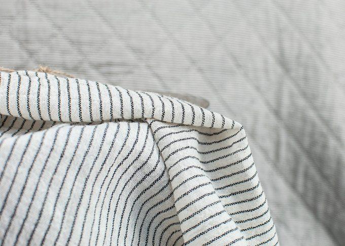 Randig handduk av bomull 50x70cm | Ib Laursen | Willekulla Lantlig Inredning - sida