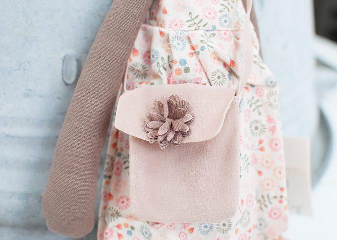 Jenny brun kanin flicka | Maileg | Willekulla Lantlig Inredning - handväska