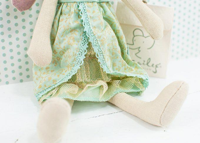 Kanin prinsessa Mary   Maileg   Willekulla Lantlig Inredning - klänning