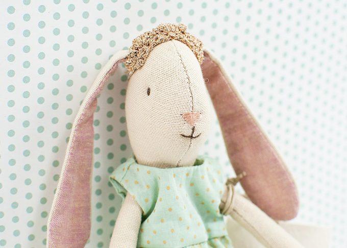 Kanin prinsessa Mary   Maileg   Willekulla Lantlig Inredning - närbild