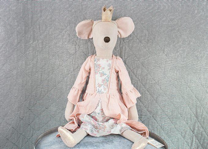 Prinsessan Rose mega mus   Maileg   Willekulla Lantlig Inredning - helbild