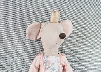 Prinsessan Rose mega mus | Maileg | Willekulla Lantlig Inredning - ansikte