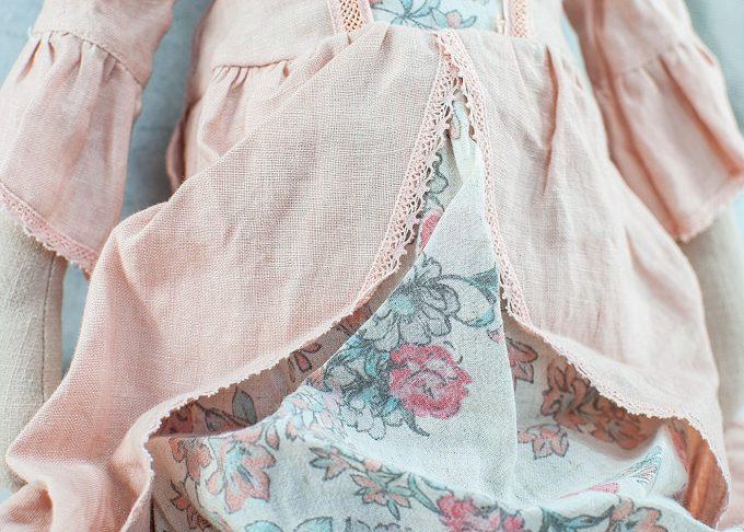 Prinsessan Rose mega mus   Maileg   Willekulla Lantlig Inredning - klänning